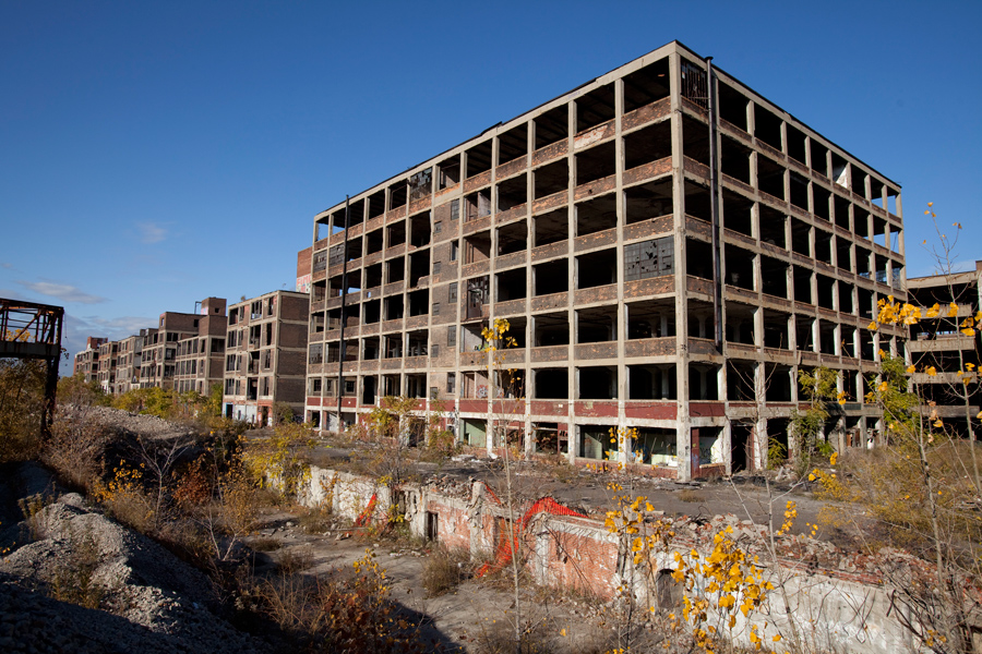 Detroit's Abandoned Packard Plant Could Be The Next Top Clubbing Destination