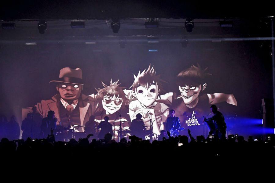 Gorillaz Tour 2017