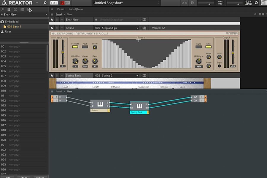 Point Blank Sound Design Tutorial: Using Reaktor As A Plugin (Video)