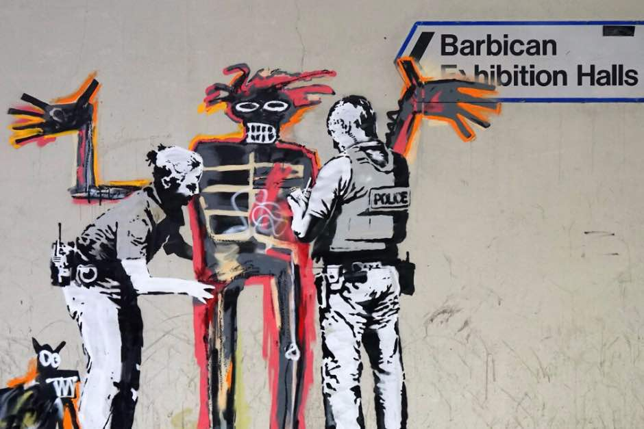 Banksy Pays Tribute To Jean-Michel Basquiat Ahead Of The Artist's First London Showcase