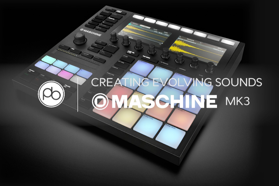 Learn How To Create Evolving Sounds On Maschine MK 3 In This Video Tutorial From Point Blank Music School
