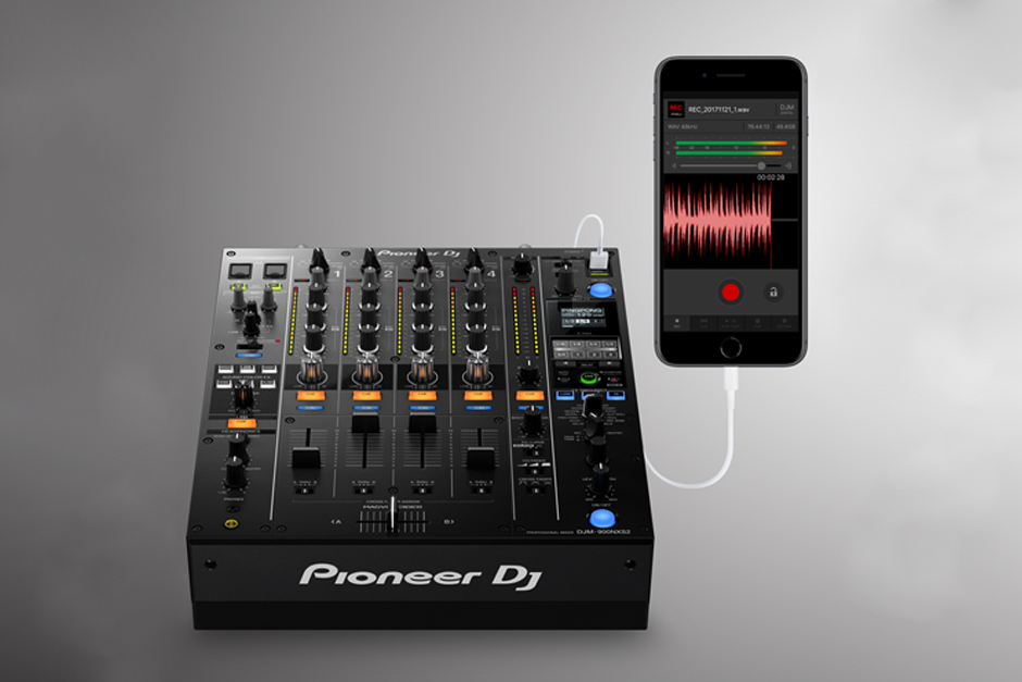 Pioneer Launches DJM-REC, An App To Record Your Mixes On Your Tablet Or Phone