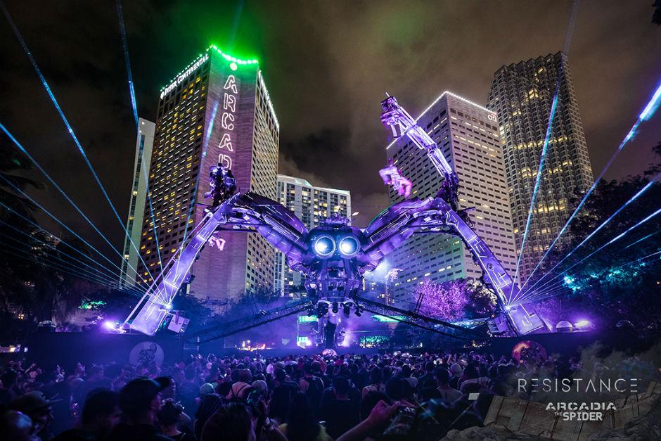 Ultra Anunció El Cartel De Resistance Miami Celebrando Su Vigésimo Aniversario