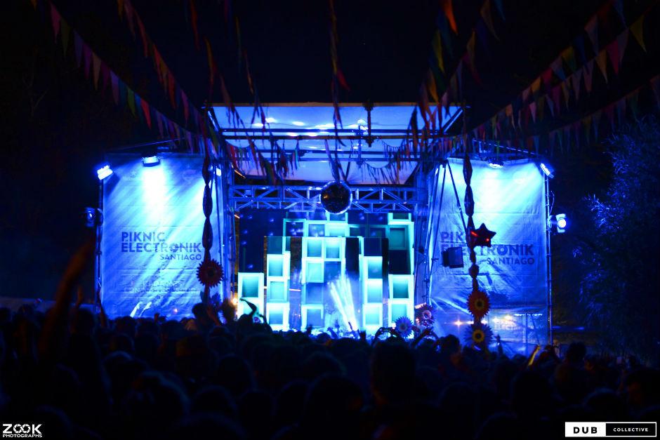 Piknic Electronik Santiago: Una Fiesta A Todo Color En La Capital Chilena
