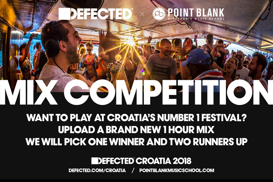 Mix Competition: Play A Set At Defected Croatia 2018 + Free Flights & Accommodation