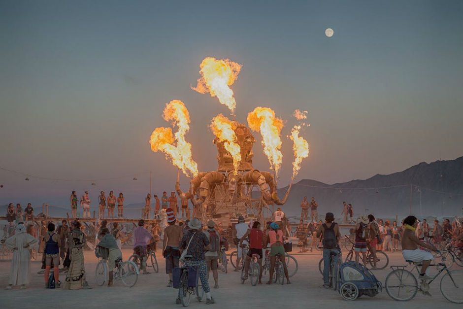 Burning Man moves forward in order to maintain a healthy environment