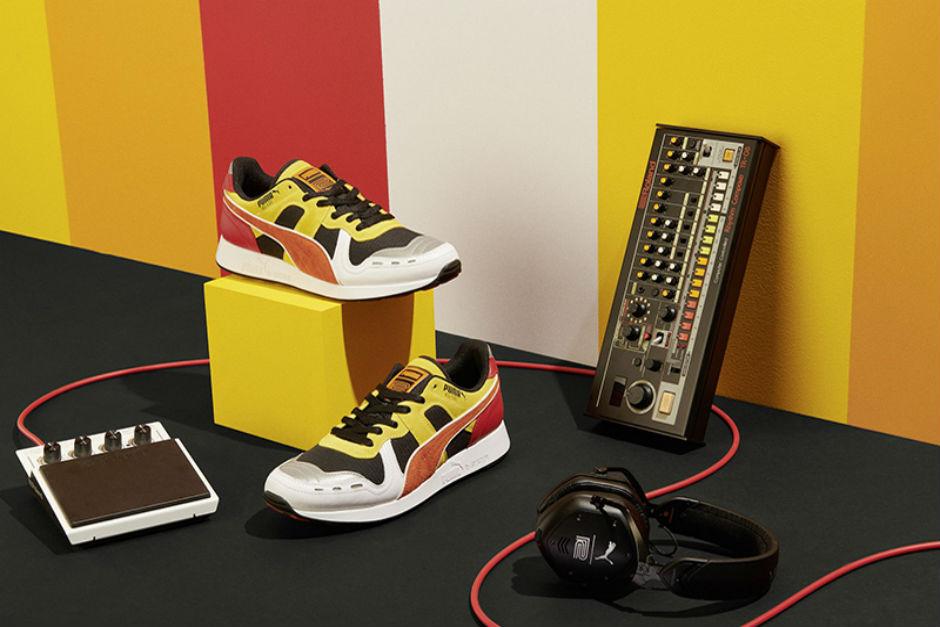Puma Lanzará Nuevas Zapatillas Inspiradas En La Caja De Ritmo Roland TR-808