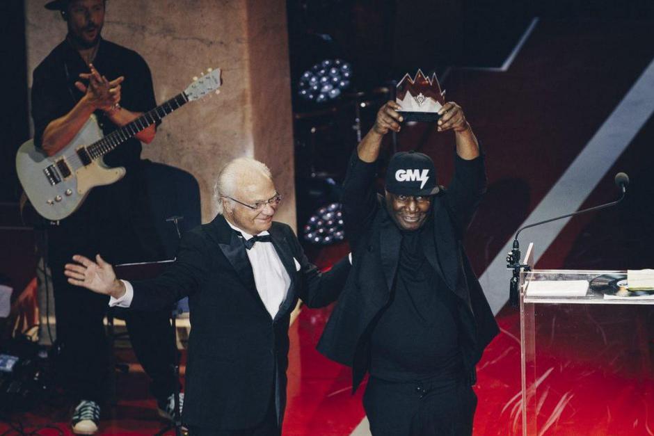 Grandmaster Flash Recibió Premio De Música Polar